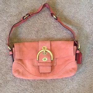 Coach coral purse